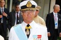 Король Швеции попал в ДТП, - СМИ