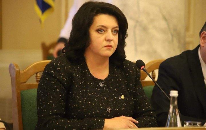 Голова Львівської обласної ради Ірина Гримак