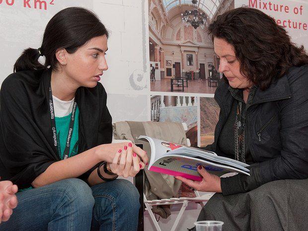 Зустріч з директором Грузинського Національного центру кіно Тамарою Татішвілі