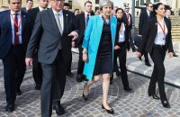 """Юнкер и Мэй согласовали некоторые изменения в соглашении по """"Брексит"""""""