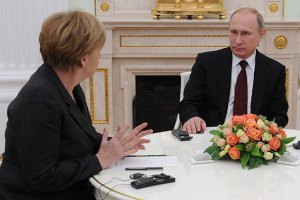 Путін і Меркель в Москві обговорять ситуацію в Україні