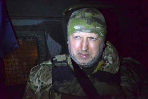 Турчинов пригрозил боевикам полномасштабной войной