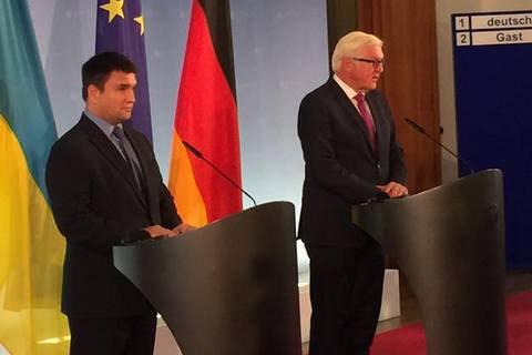 Спільна стаття Штайнмайєра і Клімкіна: 25 років дипломатичних відносин між Німеччиною та Україною