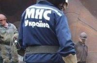 В Киеве автомобиль Lexus утонул в Днепре