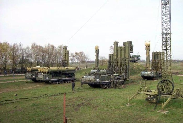 ЗРС С-300В1 137 бригади на чергуванні