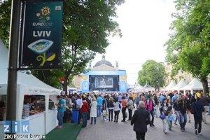 Уболівальники залишили у Львові 160 млн гривень