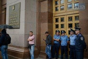 Возле Киевсовета усилили охрану