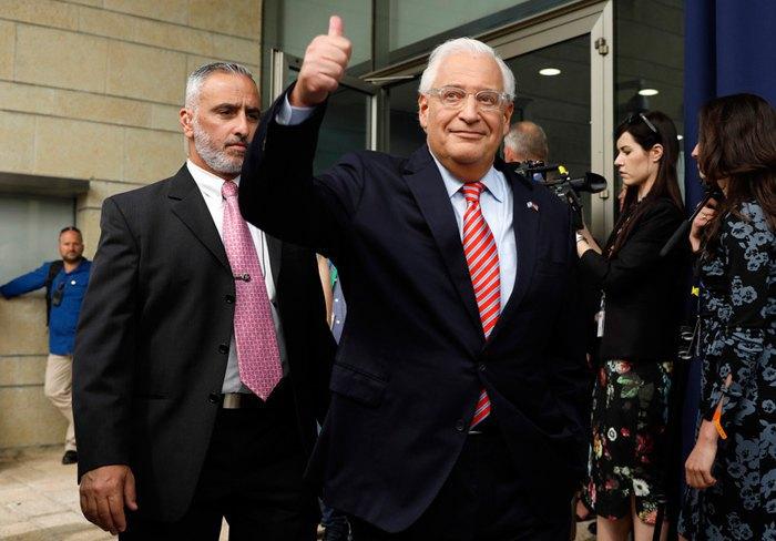 глава дипмиссии Соединенных Штатов в Израиле Дэвид Фридман