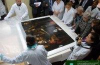 """В Киеве начали реставрацию картины Караваджо """"Поцелуй Иуды"""", пострадавшей от рук воров в 2008 году"""