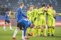 У відбірному матчі ЧС-2022 Естонія - Чехія було забито 8 голів