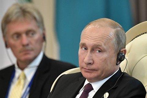У Путина подтвердили получение предложения Зеленского о встрече на Донбассе