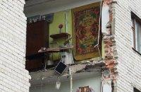 В Луцке жители разрушенного дома боятся возвращаться в свои квартиры