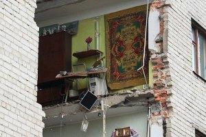 Жильцам обрушевшегося дома в Луцке позволили забрать документы