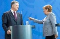 Меркель посетит Украину 1 ноября