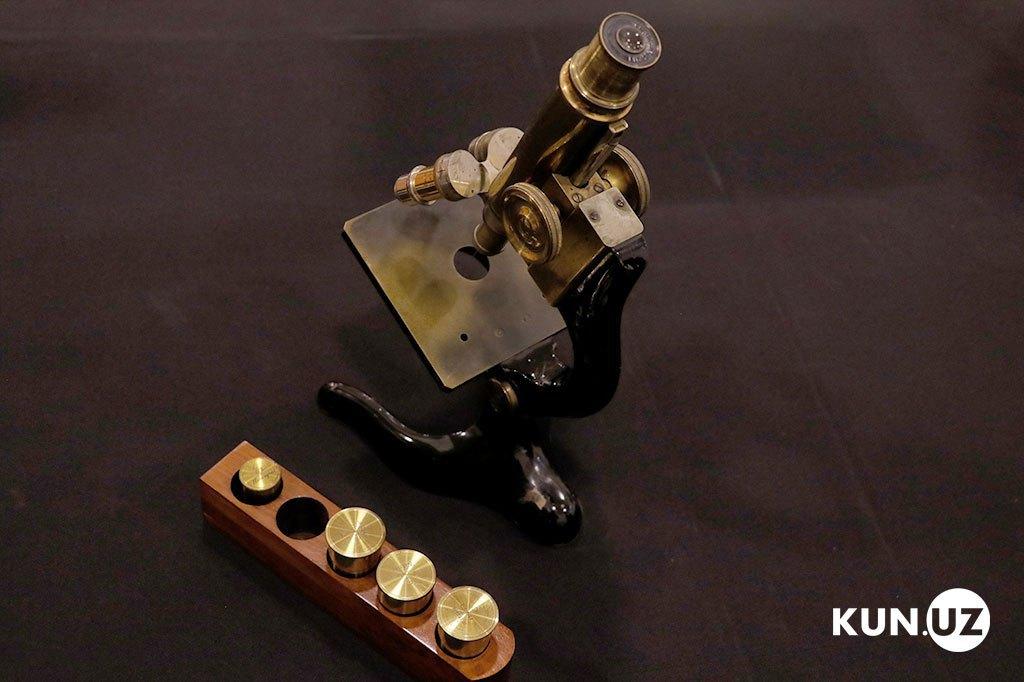 Микроскоп из золота, XIX век, Австрийская империя