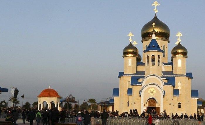 Церква на честь усіх святих у землі російській просіявших. Тамасос, Нікосія, Кіпр