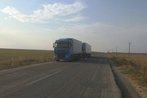 В МВД сообщили, что на админгранице с Крымом фур нет