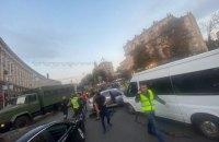 В центре Киева спецназовцы КОРДа задержали двух грузин, которые грабили клиентов обменников (обновлено)