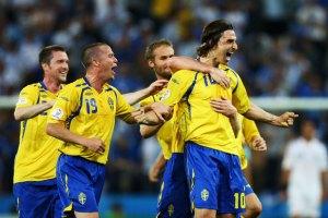 Ибрагимович приносит победу Швеции