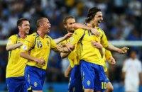 Ібрагімович приносить перемогу Швеції