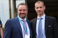 Андрій Павелко став членом Виконкому УЄФА