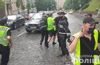 """У Києві на акції інвесторів """"Укрбуду"""" постраждали двоє поліцейських"""