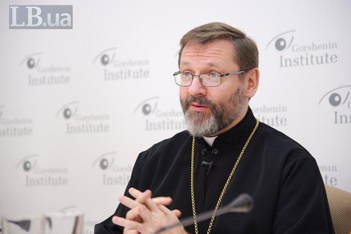 Глава УГКЦ архиепископ Святослав Шевчук