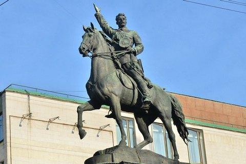 У КМДА підготували проект демонтажу пам'ятника Щорсу