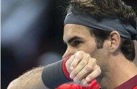 Федерер 12-й раз вийшов у півфінал Підсумкового турніру