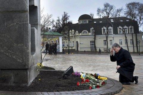Порошенко призвал Россию покаяться за Голодомор