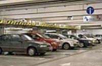 В Москве обрушилась многоярусная парковка