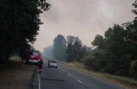 В Одесской области в стоге сена сгорел 5-летний мальчик