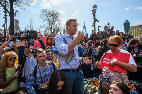 Навального відпустили і призначили суд на 11 травня