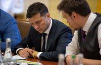 Зеленский подписал указ о повышении качества дорог в Украине