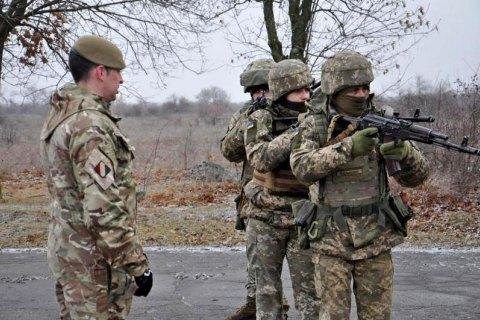 Британські військові інструктори продовжать роботу в Україні до березня 2023 року