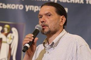 """Голодающий за Тимошенко """"бютовец"""" потерял сознание"""