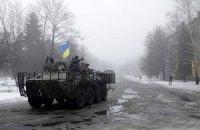Двое военнослужащих 40-го батальона ранены под Дебальцево