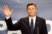 Президент Словении переизбран на второй срок