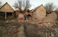 Боевики ночью обстреляли частный сектор Авдеевки (обновлено)