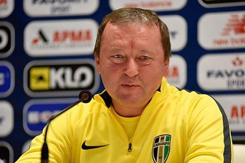 """Президент """"Александрии"""" за проигрыш от """"Вольфсбурга"""" вознаградит команду премией, - главный тренер"""