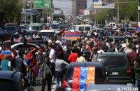 В Ереване возобновились протесты