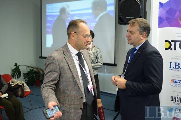 Олег Синютка (справа) и Роман Бессмертный
