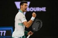 """Джокович побив """"вічний"""" рекорд Федерера як перша ракетка світу"""
