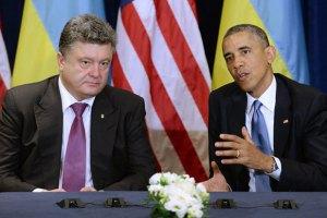 Обама про Порошенка: український народ зробив мудрий вибір