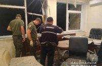 В Киеве выстрелили из гранатомета в офисное здание