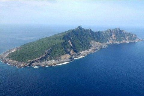 Японский остров целиком ушел под воду