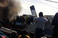 У ДР Конго через падіння літака на житлові будинки загинуло понад 20 людей