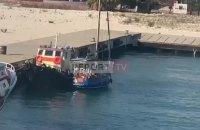 В Албании задержали яхту с украинцами, их обвиняют в нарушении границы