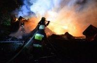 Четверо детей погибли при пожаре в Черкасской области