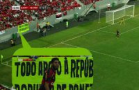 """На матчі """"Шахтаря"""" у Бразилії вивісили банер на підтримку ДНР"""